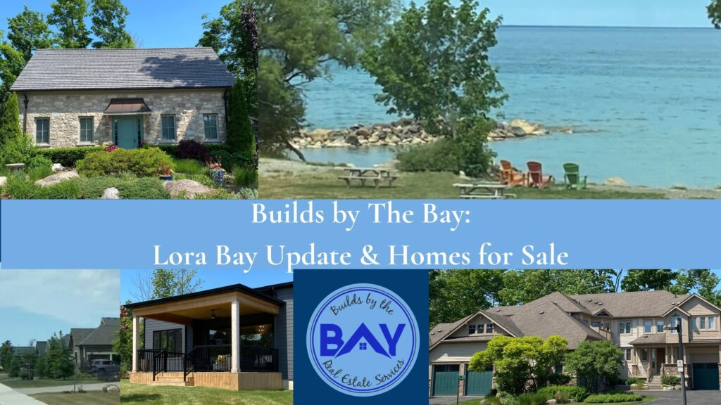 Lora Bay development update, old cottage, private members beach, new cottages phase 5, the masters collection, condo in lora bay