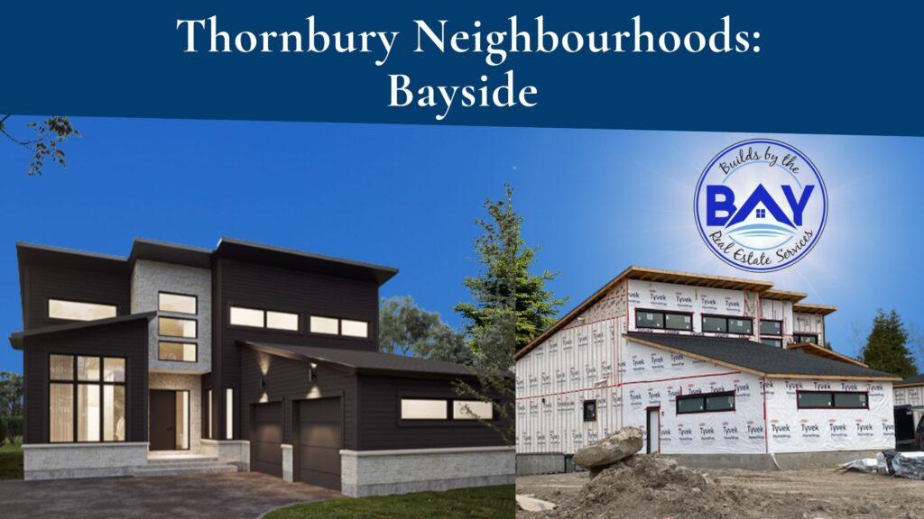 Thornbury neighbourhoods bayside by calibrex development under construction and artist rendering